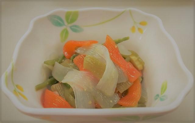 【簡単!副菜レシピ】山菜の辛子酢味噌和え